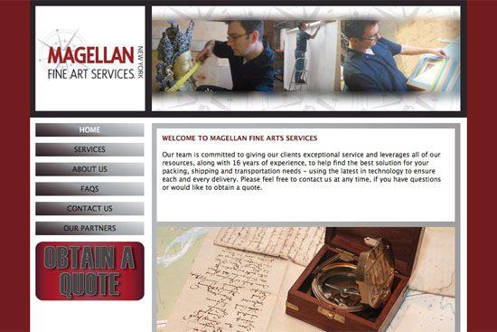 Magellan Fine Art Services Home